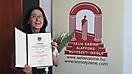 2020. szeptember 8. - Akácsos Enikő tanárnő kitűntetése